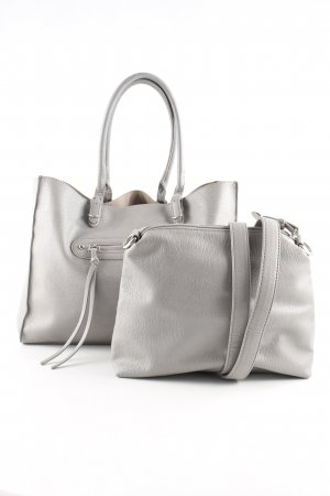 Hallhuber Shopper hellgrau Casual-Look