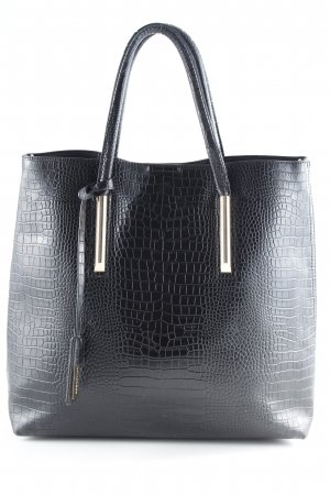 Hallhuber Shopper black-gold-colored casual look