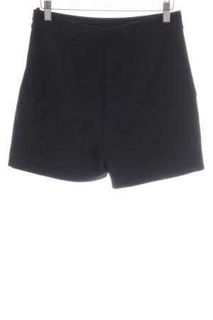 Hallhuber Shorts schwarz Casual-Look