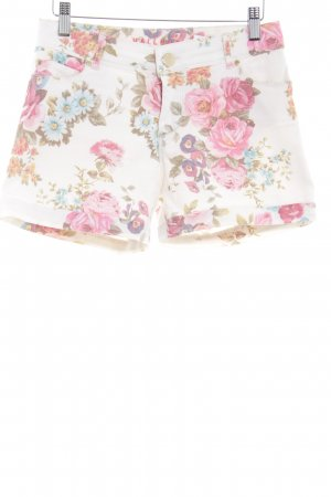 Hallhuber Shorts florales Muster Casual-Look