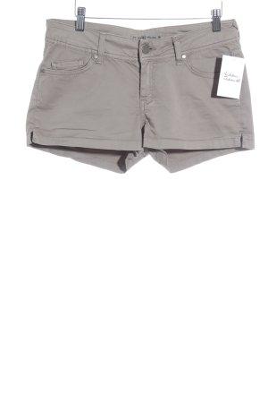 Hallhuber Shorts graubraun Beach-Look