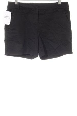 Hallhuber Shorts schwarz Business-Look