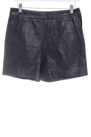 Hallhuber Shorts schwarz Elegant