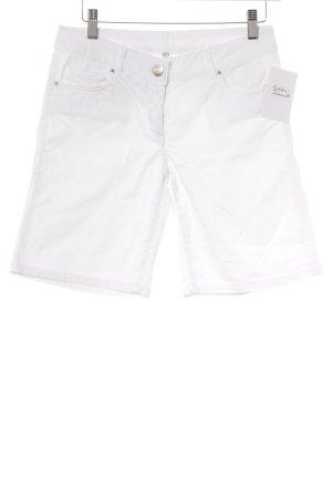 Hallhuber Shorts weiß Casual-Look