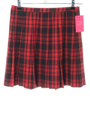 Hallhuber Skater Skirt red-black allover print casual look