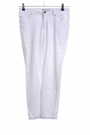Hallhuber Jeans skinny bianco stile casual