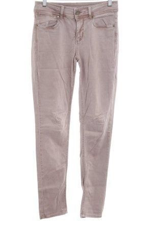 Hallhuber Skinny Jeans beige Casual-Look