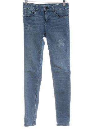 Hallhuber Skinny Jeans blau Jeans-Optik
