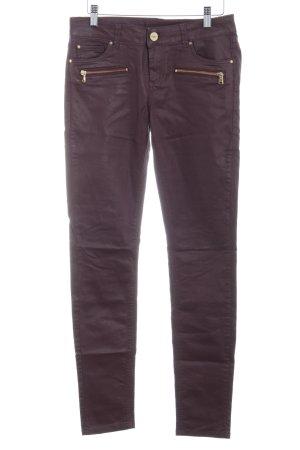 Hallhuber Skinny jeans braambesrood casual uitstraling