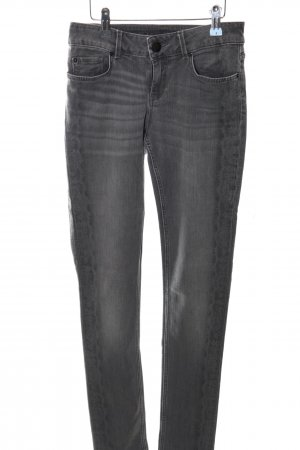 Hallhuber Skinny Jeans hellgrau Casual-Look