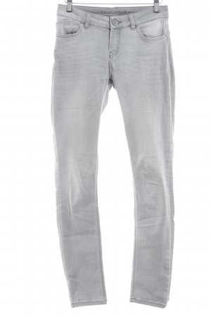 Hallhuber Skinny Jeans light grey casual look