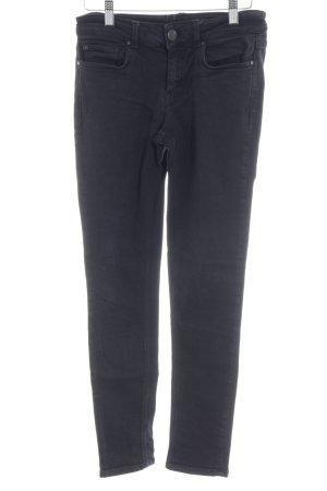 Hallhuber Skinny Jeans mehrfarbig Used-Optik