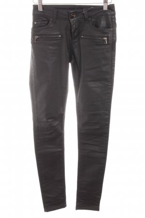 Hallhuber Skinny Jeans schwarz Jeans-Optik