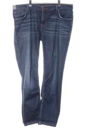 Hallhuber Slim Jeans blau Casual-Look