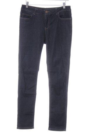Hallhuber Slim Jeans dunkelblau Casual-Look