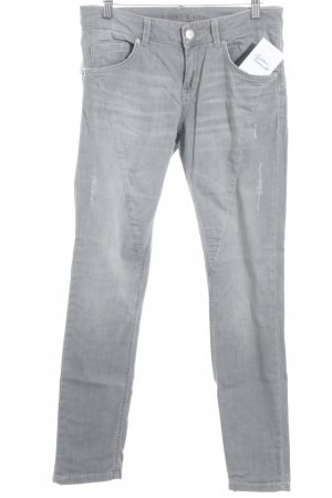 Hallhuber Slim Jeans grau Casual-Look