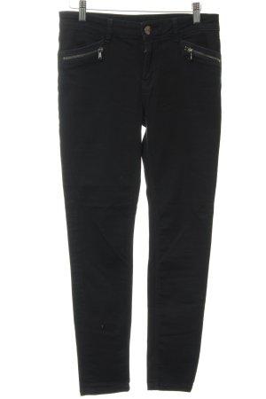 Hallhuber Slim Jeans schwarz Casual-Look