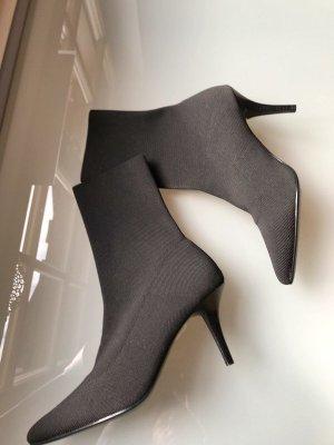 Hallhuber Sock-Boots NEU schwarz Stiefeletten Boots