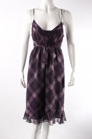 Hallhuber sundress plaid purple