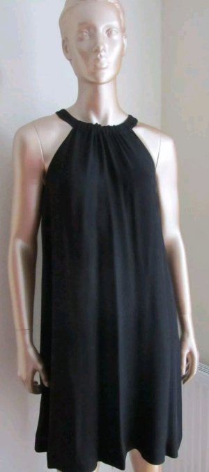 Hallhuber Sommerkleid Kleid Abendkleid Neckholder schwarz