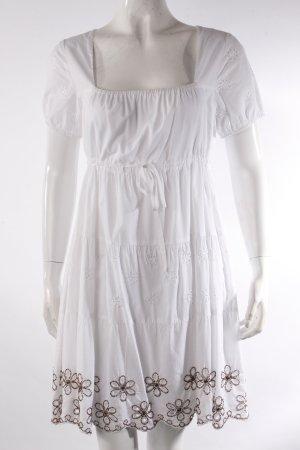 Hallhuber Sommerkleid mit Empire-Schnürung
