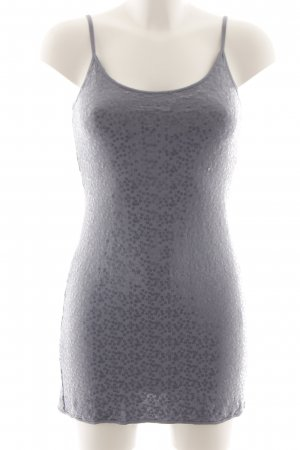Hallhuber Spaghetti Strap Top light grey flecked elegant