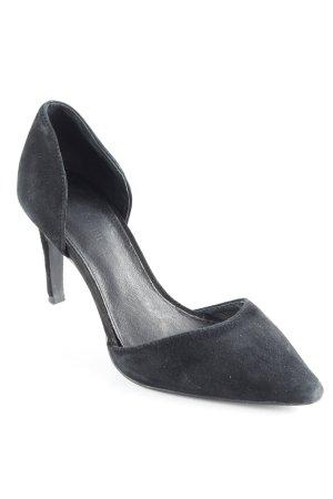 Hallhuber Spitz-Pumps schwarz Elegant