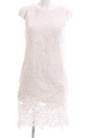 Hallhuber Spitzenkleid creme Elegant