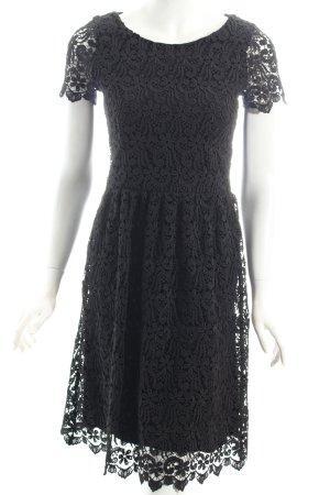 Hallhuber Spitzenkleid schwarz Eleganz-Look