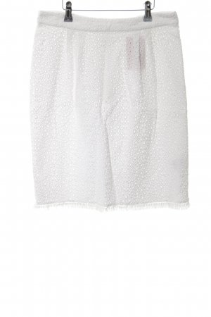 Hallhuber Lace Skirt white casual look