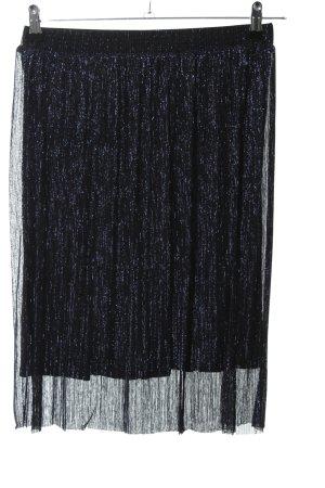 Hallhuber Kanten rok zwart-wit volledige print casual uitstraling