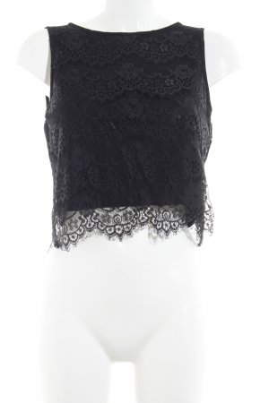 Hallhuber Lace Top black casual look