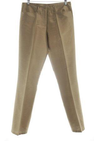 Hallhuber Stoffhose bronzefarben meliert Elegant