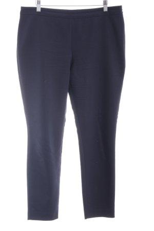 Hallhuber Stoffhose dunkelblau Business-Look