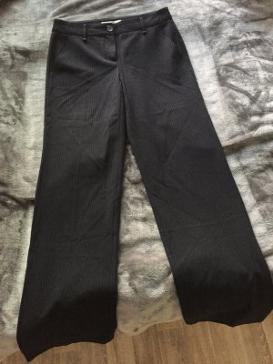 Hallhuber Stoffhose, dunkelblau, Größe 34