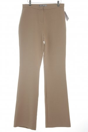 Hallhuber Jersey Pants light brown casual look