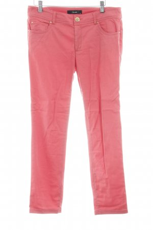 Hallhuber Stoffhose rot Casual-Look
