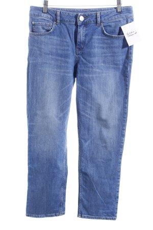 Hallhuber Straight-Leg Jeans blassblau Street-Fashion-Look