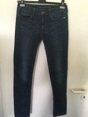 Hallhuber Jeans elasticizzati blu scuro