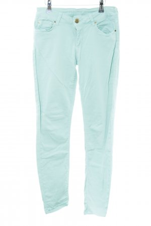 Hallhuber Jeans stretch turquoise style simple
