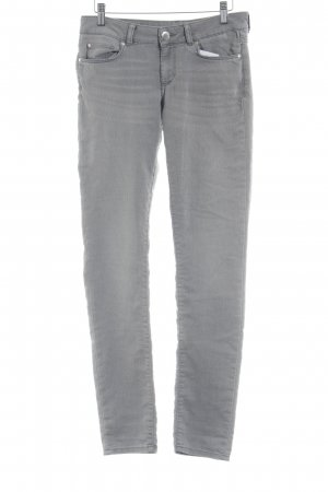 Hallhuber Stretch Jeans grau Casual-Look