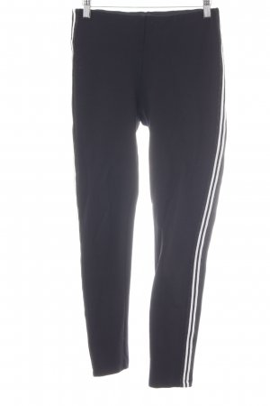 Hallhuber Stretch Trousers black-white casual look