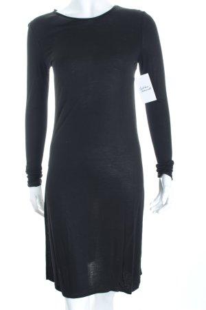 Hallhuber Stretchkleid schwarz minimalistischer Stil