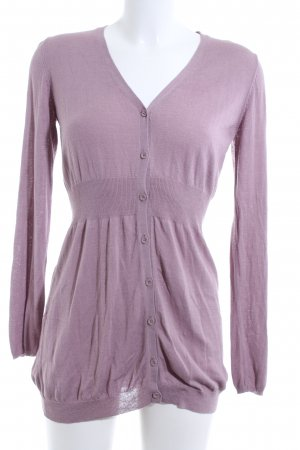 Hallhuber Strick Cardigan pink Casual-Look
