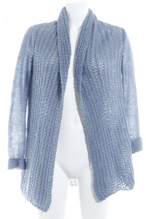 Hallhuber Knitted Cardigan azure casual look