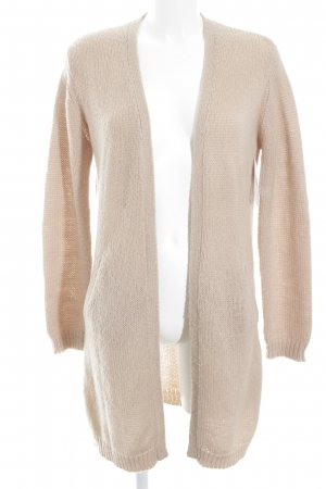 Hallhuber Strick Cardigan nude Webmuster Casual-Look