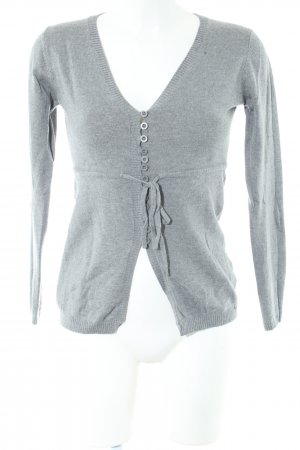 Bestellung Luxus 100% Qualität Hallhuber Cardigan light grey flecked casual look