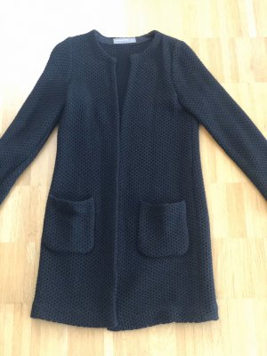 Hallhuber Strickjacke schwarz