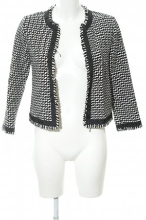 Hallhuber Cardigan black-natural white casual look