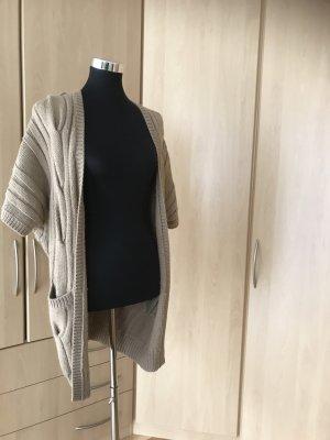 Hallhuber Cardigan tricotés multicolore laine alpaga